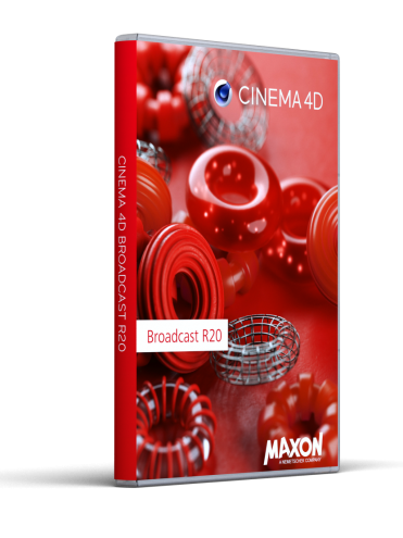 Cinema 4D Broadcast R20 Vollversion