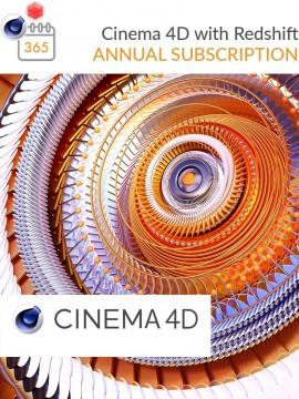 Cinema 4D R21 mit Redshift monatlich