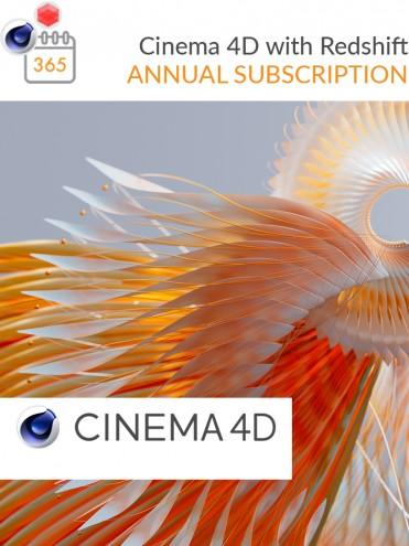 Cinema 4D mit Redshift jährlich
